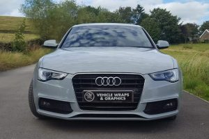 Audi A5 Colour Change Wrap Front SB Vehicle Wraps