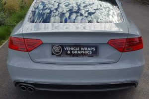 Audi A5 Colour Change Wrap Rear SB Vehicle Wraps