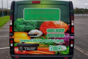 Earnshaws Veg Van Wrap Rear