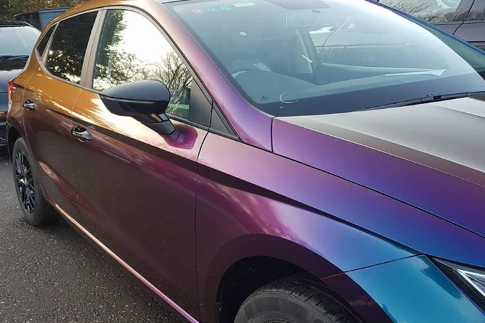 Seat Ibiza Colour Flip Wrap Side