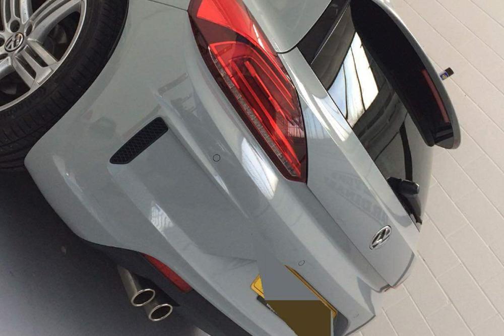 Volkswagen Scirocco Colour Change Wrap Rear