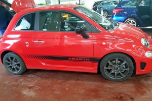 Fiat 500 Abarth Graphics Fitted