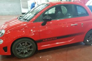 Fiat 500 Graphics Fitted