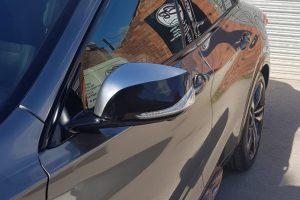 Infiniti Q30S De-Chrome Wrap Wing Mirror